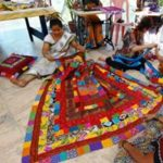 Padukas Quilt Making